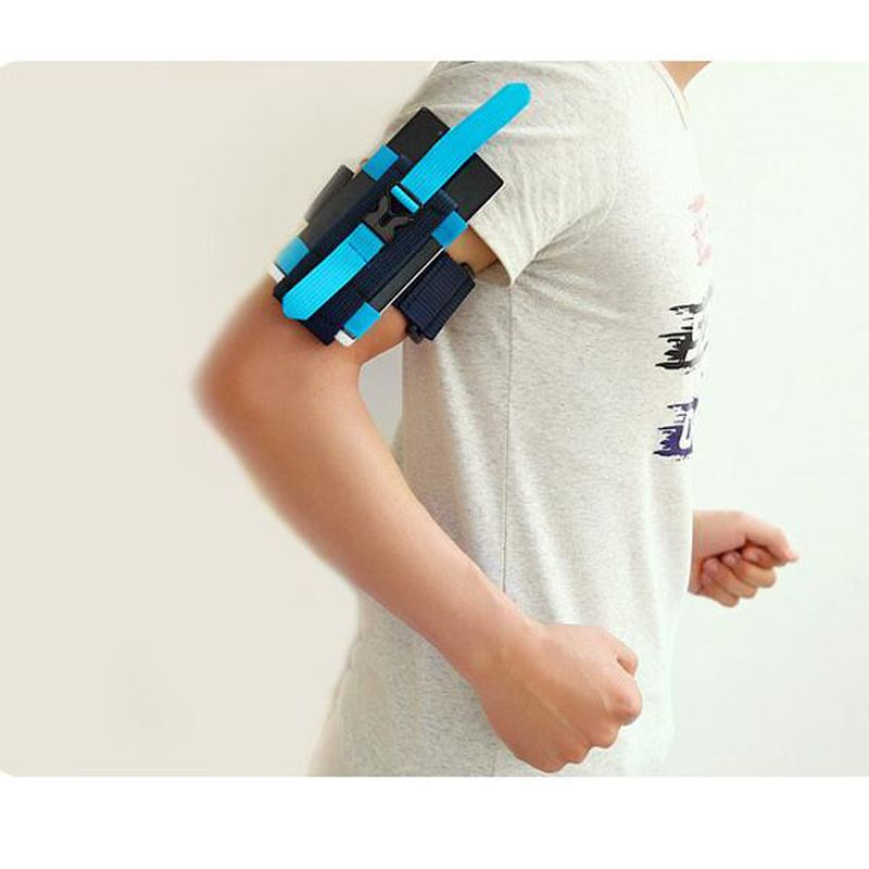 ROBESBON Cell Phone Sports Armband, Running Arm Bag Waterproof Arm Pocket 5 colors