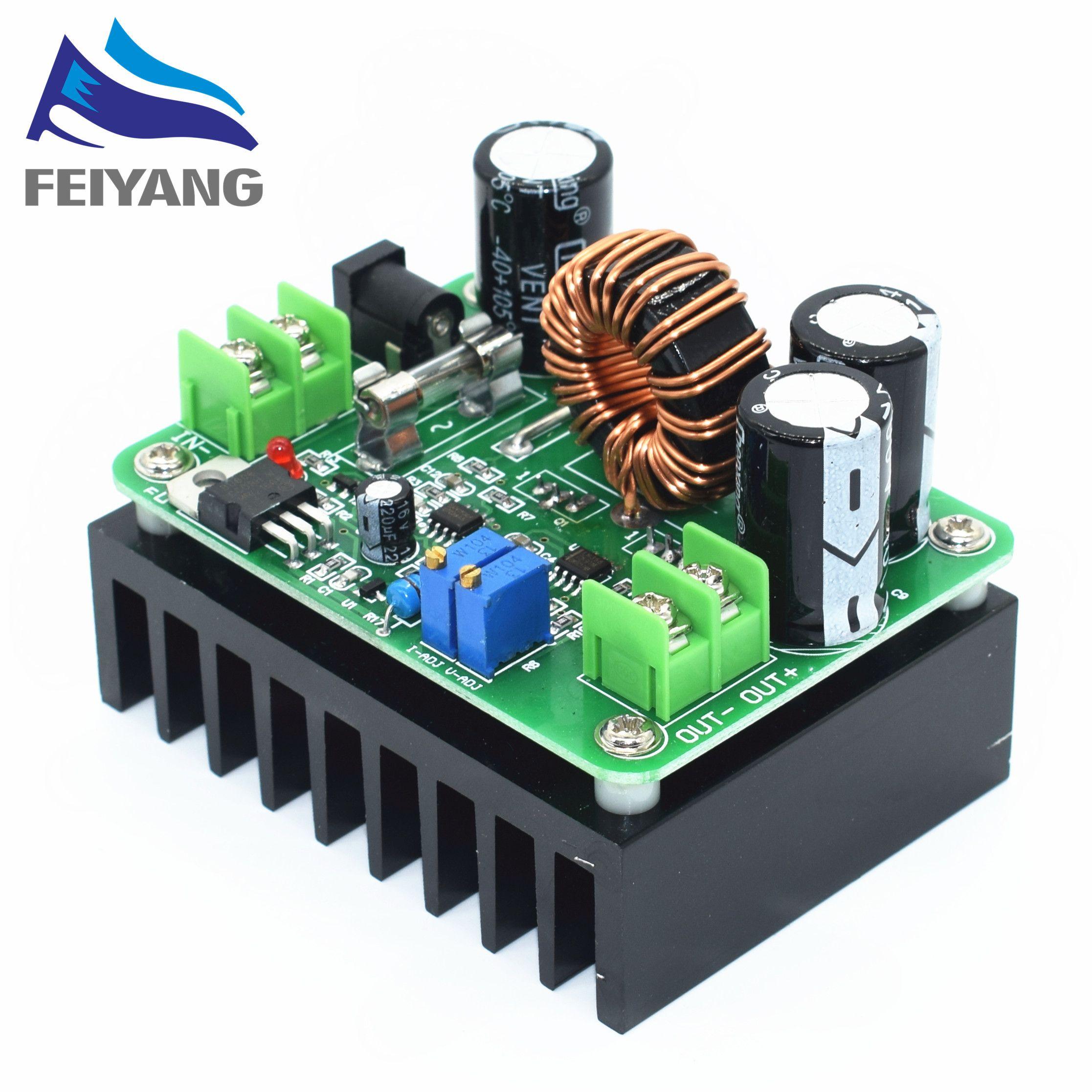 1pcs DC-DC 600W 10-60V to 12-80V Boost Converter Step-up Module car Power Supply