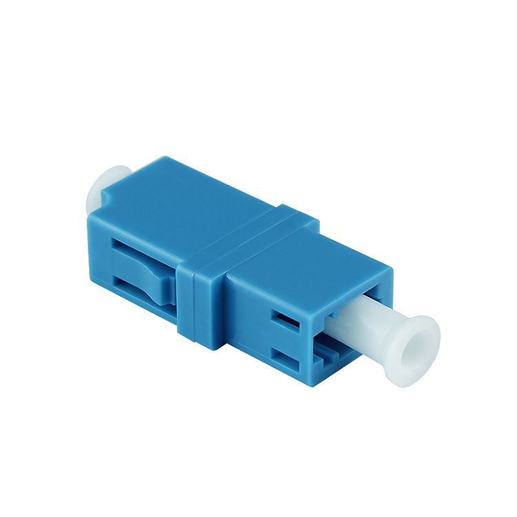free shipping 20pcs LC-LC singlemode LC/UPC simplex flange adapter fiber coupler for digital communication