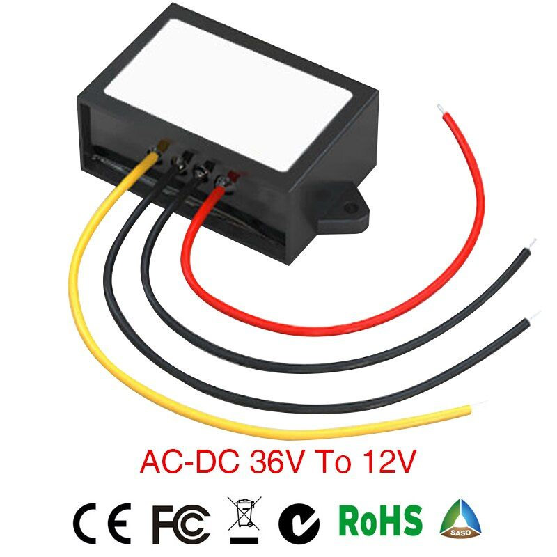 Limited Grid Tie Inverter Power Supply Converter Ac/dc Step-down 36v To 12v Waterproof Control Car Module power inverter convert