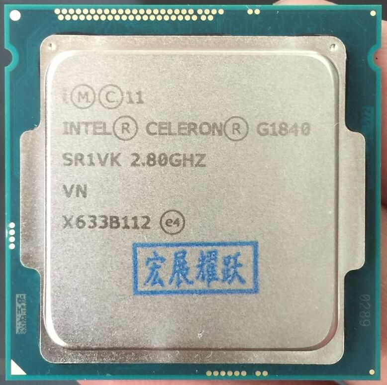 Intel Celeron Processor G1840 (2M Cache, 2.80 GHz) LGA1150 Dual-Core 100% working properly Desktop Processor