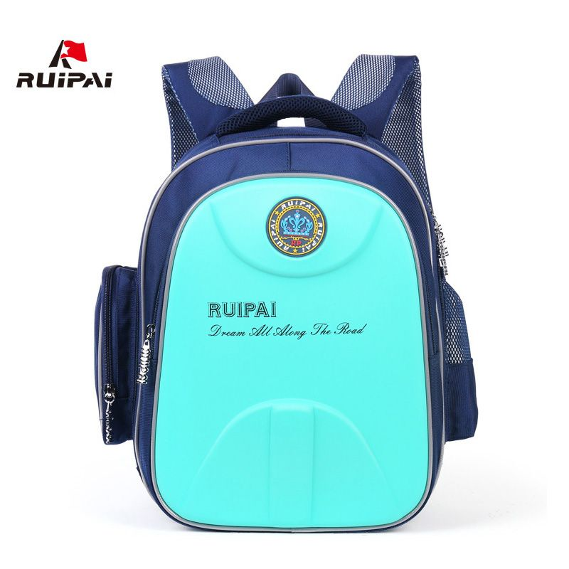 RUIPAI Backpack For Children Safety Reflective Design Hard Shell School Bag Orthopedic Satchel Rucksack For Girls Boys Kids