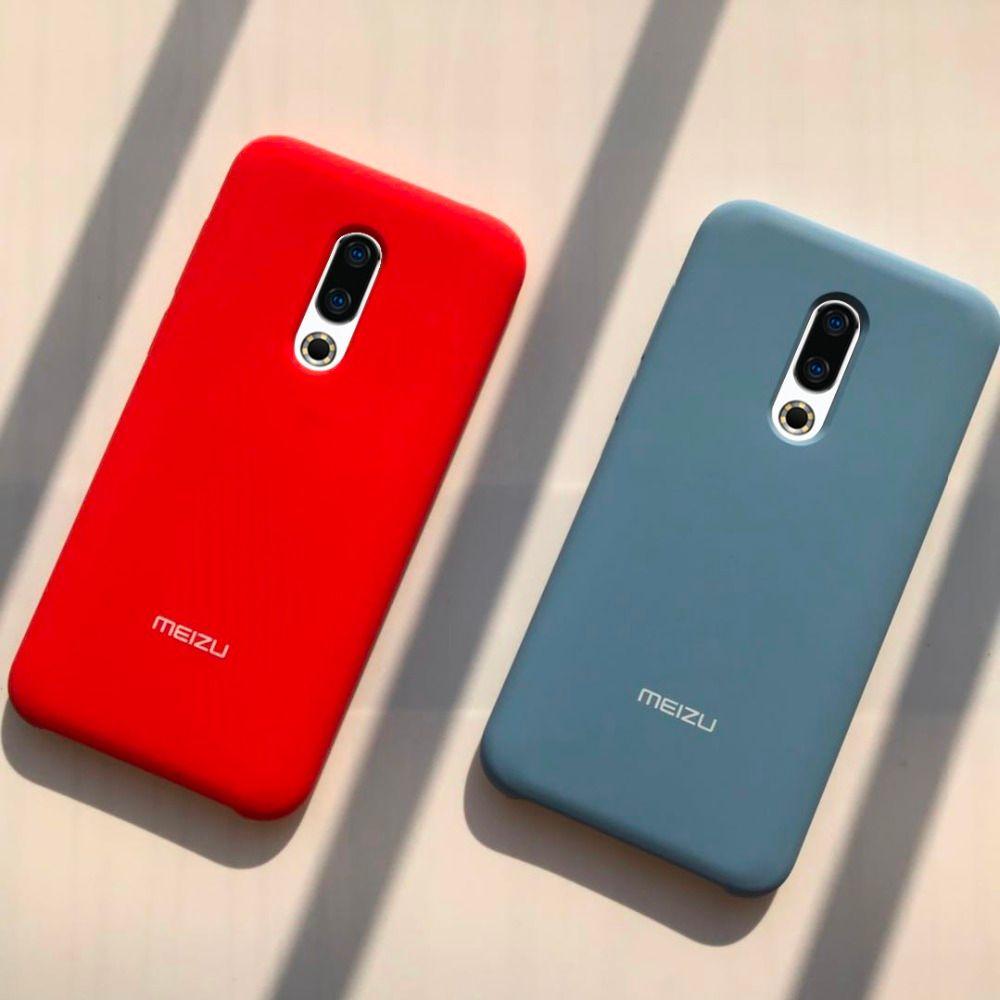 meizu 16th case luxury liquid silicone protective cover 6.0inch snapdragon 845 super comfortable phone shell for meizu 16 16th