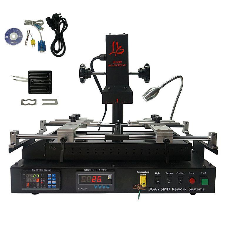 LY IR8500 IR BGA reballing maschine upgrated von die IR6500 V.2 und IR6000 V.3 mit 80mm 450 W Infrarot top keramik heizplatte