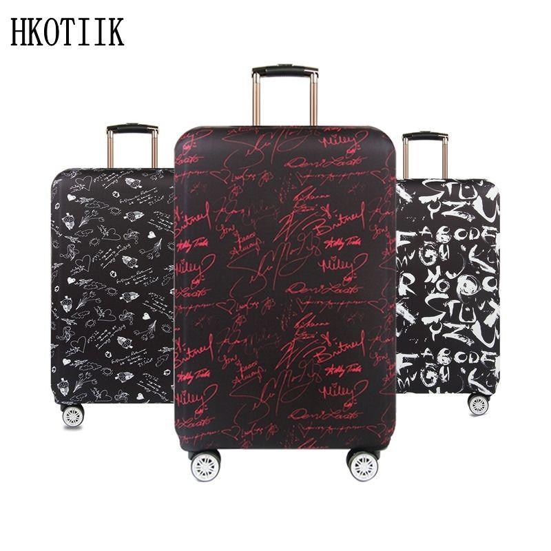 Valise de voyage de haute qualité Élastique cache-poussière Valise Trolley étui de protection pour 18 ~ 32 pouce valise housse de protection