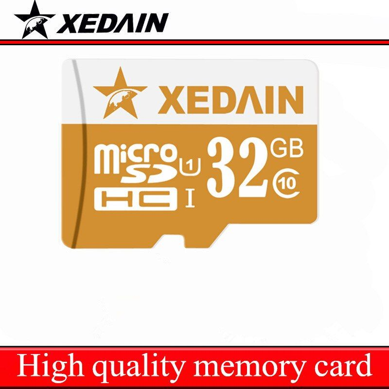 Xedain venta mini tarjeta flash 8 GB 16 GB 32 GB 64 GB tarjeta SD micro class10 capacidad verdadera tarjeta de memoria TF tarjetas envío libre para el teléfono