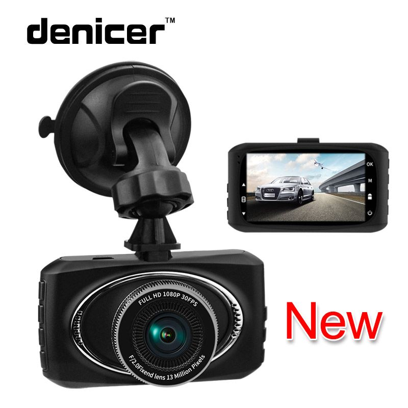 denicer car dvr camera 3.0'' screen dash camera hd 1080P/720P Digital Video Registrars Motion Detection Auto Camcorder Dash Cam