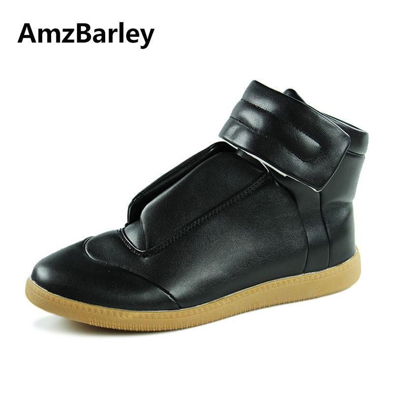 Best Формальное Дизайнер Обувь Для мужчин высокое качество Элитный бренд 2017 кожи красный Низ для Повседневная Мужская обувь с высоким берцем ...