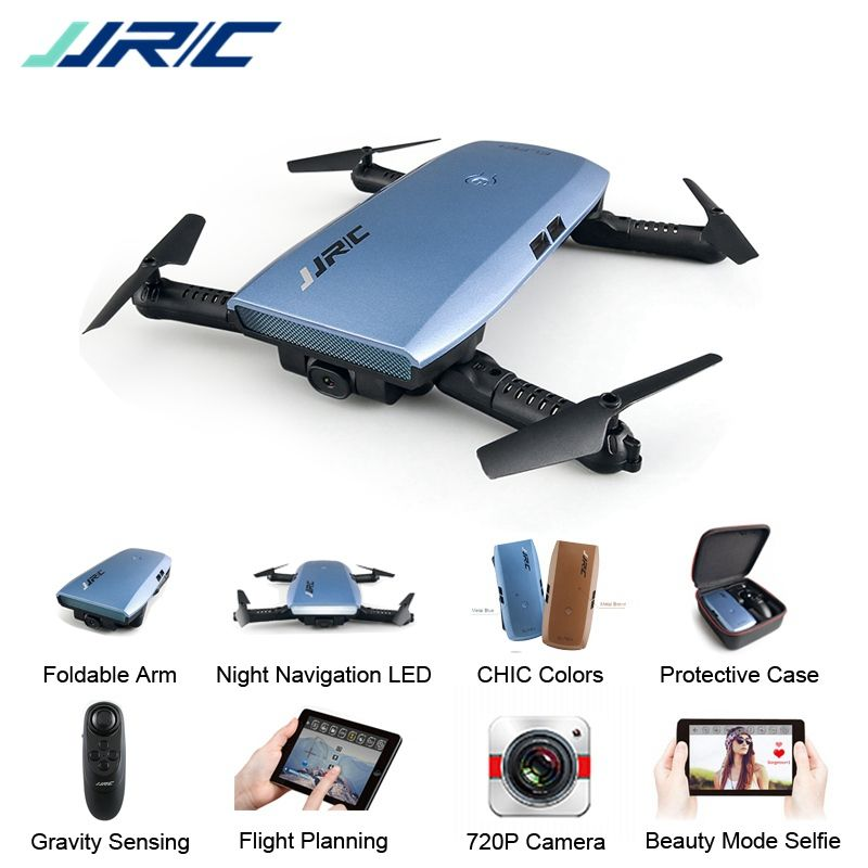 JJRC JJR/C H47 ELFIE Plus FPV with HD Camera Upgraded Foldable Arm WIFI 6-Axis RC Drone Quadcopter Helicopter VS H37 Mini E56