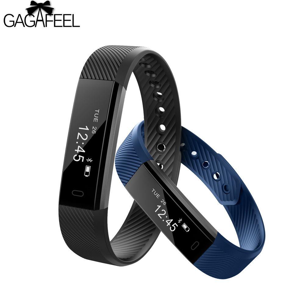 GAGAFEEL Pedometer Sport Smart Watch for IOS Android Men Women Smart Bracelet Watches Sleep Tracker Clock