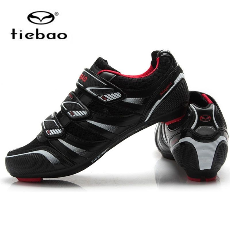 Tiebao Road Cycling Shoes For Women & Men Auto-lock Breathable Cycle Cycling Bike bicycle shoes Sapatilha Ciclismo Zapatillas