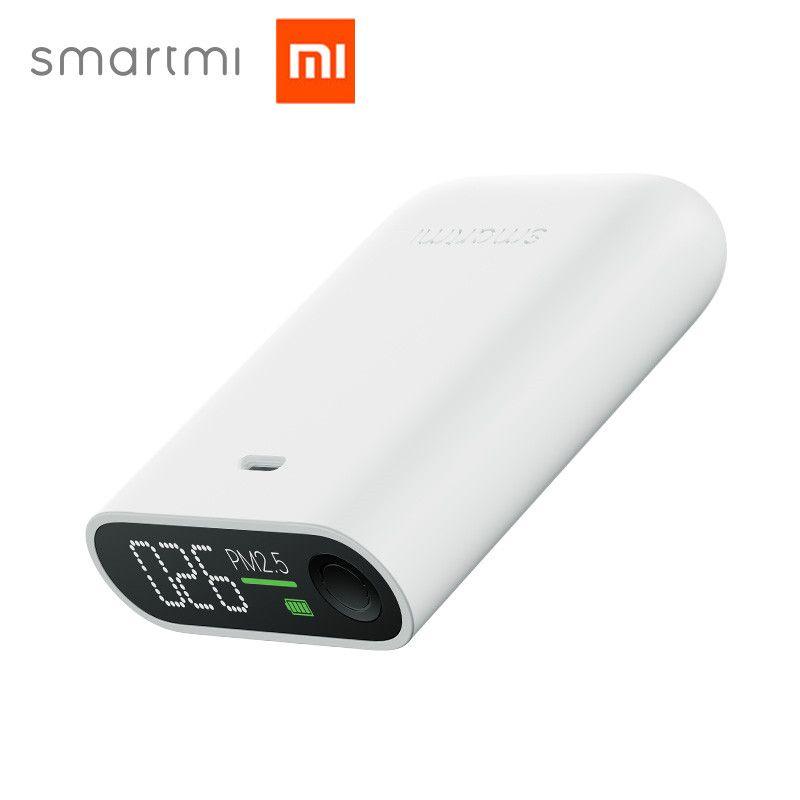 Xiaomi Mijia Smartmi PM2.5 Air Détecteur Portable Sensible Mijia Air Qualité Testeur LED Écran Trois-couleur Numérique Indicateur
