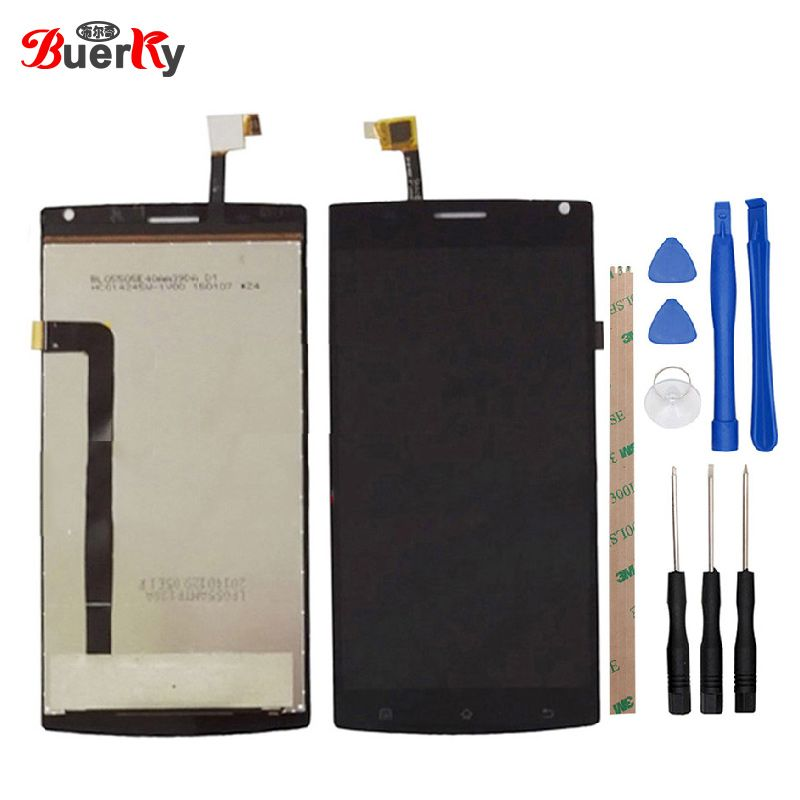 BKparts 1pcs For Megafon login plus MegaFon Login+MFLoginPh TOPSUN_G5247_A1 LCD display touch Screen digitizer assembly +tools