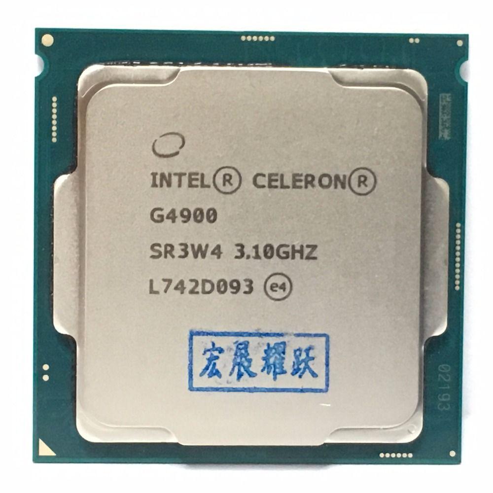 Intel PC Desktop computer Pentium Prozessor G4900 3,1g 512KB 2 mb CPU LGA 1151-land FC-LGA 14 nanometern dual-Core CPU