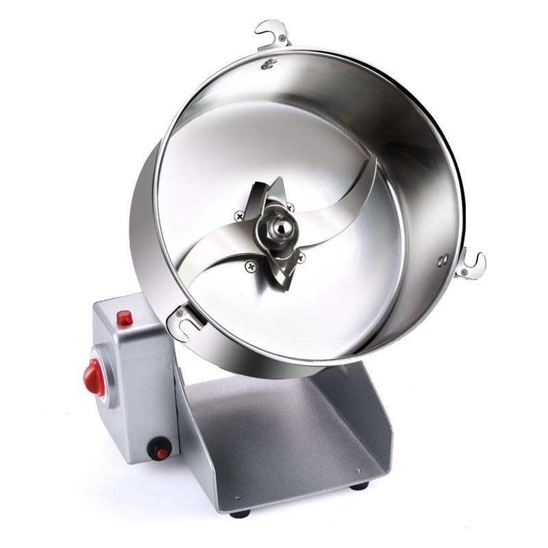 Elektrische Edelstahl Trockenen Mühlen für 2000g 3600 watt Home Mini Pulverisierer für Getreide Bohnen Trockenen Schleifen Müller Mixer