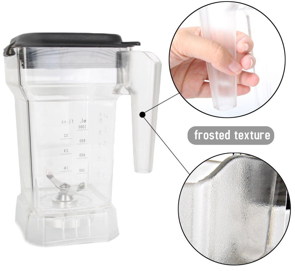 ITOP 1.5L Jar montage Mixer Tasse Für Mixer Edelstahl Klinge