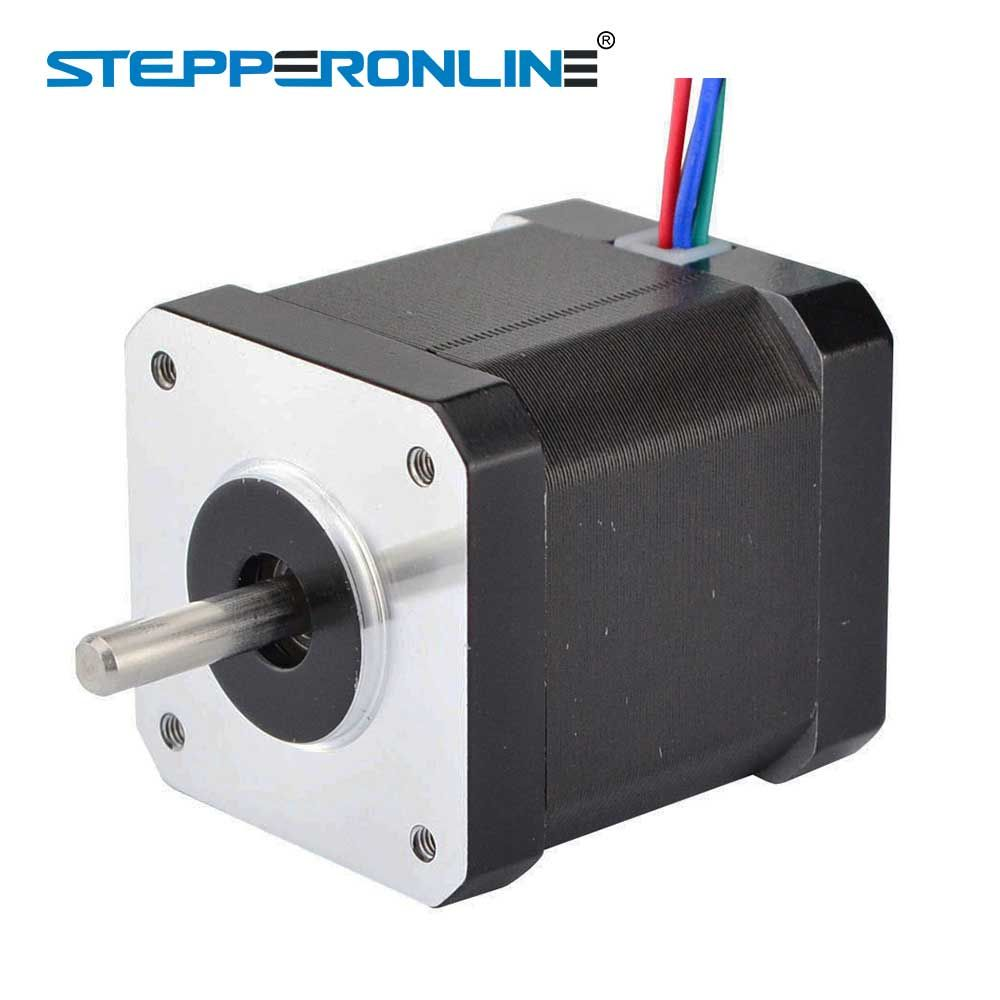 0.9 Degree Nema 17 Stepper Motor 44Ncm(62.3oz.in) 1.68A 4-lead Nema17 Step Motor 42 x 47mm 3D Printer CNC Robot
