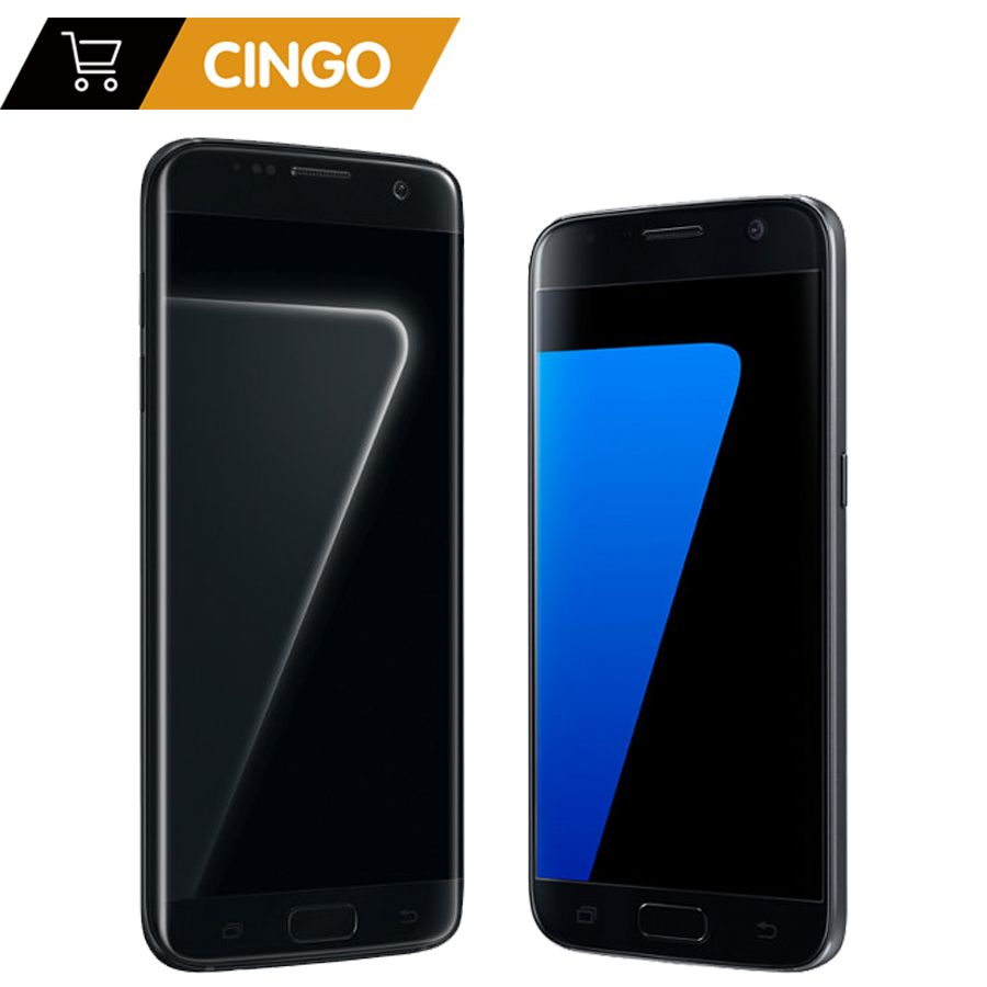 Samsung Galaxy S7 G930F / S7 Edge G935F Original Unlocked LTE GSM Android Mobile Phone Octa Core 5.1 12MP 4G 32G ROM 3000mAh