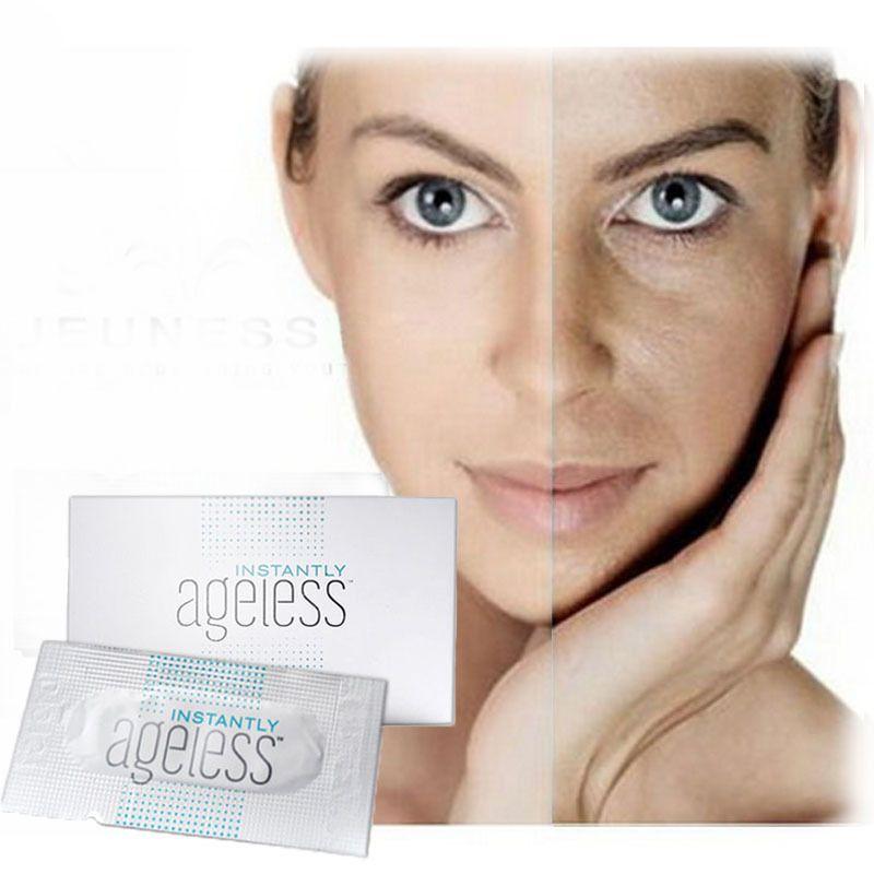 50 sachets USA jeunesse instantly ageless products anti aging anti wrinkle cream argireline face lift serum eye bags remove