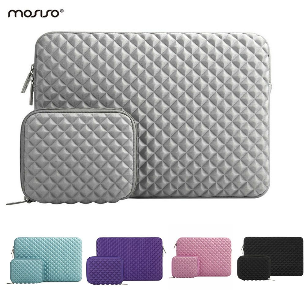 MOSISO Lycra Soft Laptop Sleeve 13 13.3 inch Laptop Bag Case for Macbook Air 13 Retina Pro 13'' HP/Dell/Surface Notebook Bags