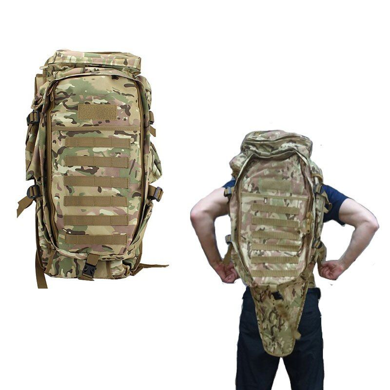 Men's Military Tactical Pack Outdoor Hunting Backpack Rifle Carry Tactical Bag Gun Protection Case Backpacks