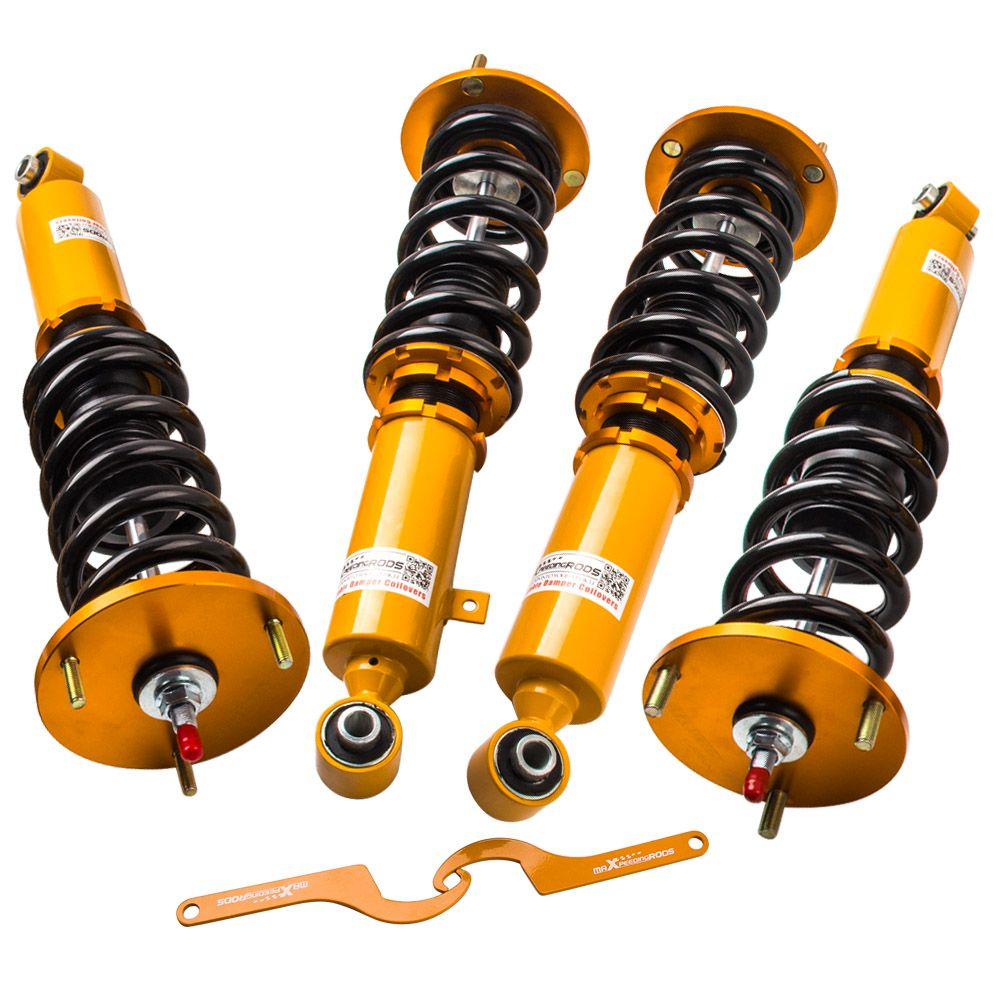 Full Assembly Coilover Kits For MK3 87-92 Toyota Supra 24 Way Adjustable Damper Damper & Height Shocks Coilovers Springs