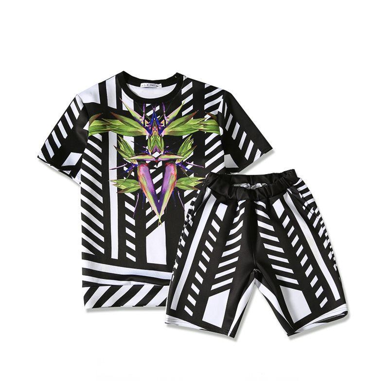 Sommer T Mode T-shirt Medusa Raum baumwolle t-shirt Cool Creative design 3d t-shirt Casual kurzarm + shorts anzug R2145