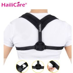 Upper Back Posture Corrector Clavicle Support Belt Back Slouching Corrective Posture Correction Spine Braces Supports Health