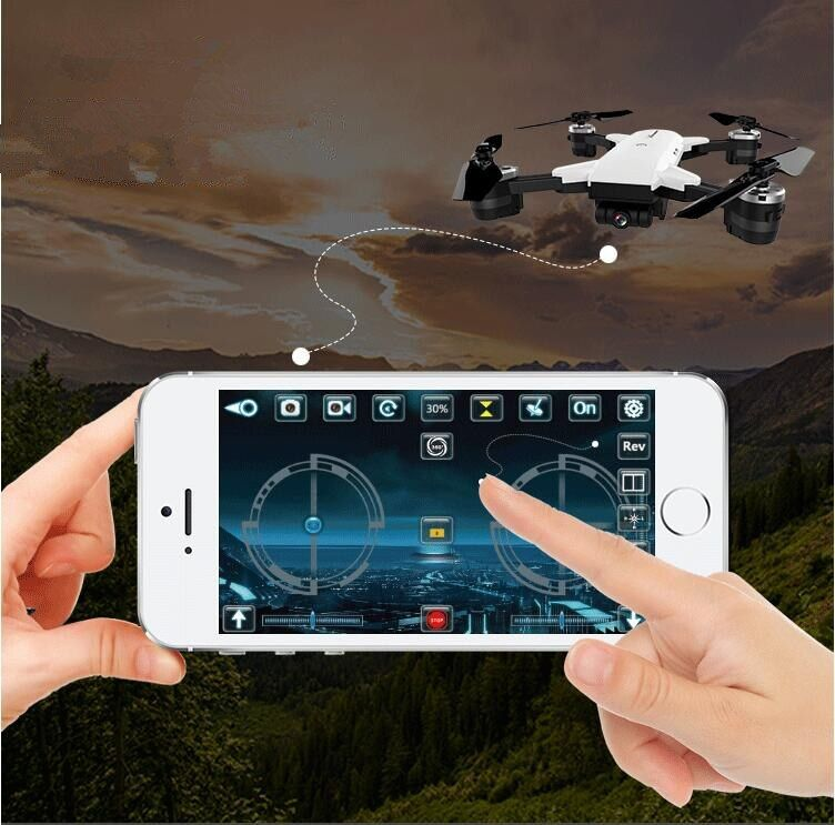NEW WIFI realtime RC Drone YH-19HW Selfie Remote Control Foldable Quadcopter 2.4G 6-Axis attitude 720P wide angle Camera