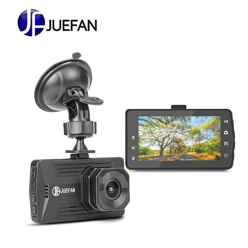 JUEFAN Auto DVR Kamera JF03 3,0 bildschirm größe Volle HD 1080 p 170 Grad Dashcam Video bis zu 32g und 500 millionen pixel dash cam