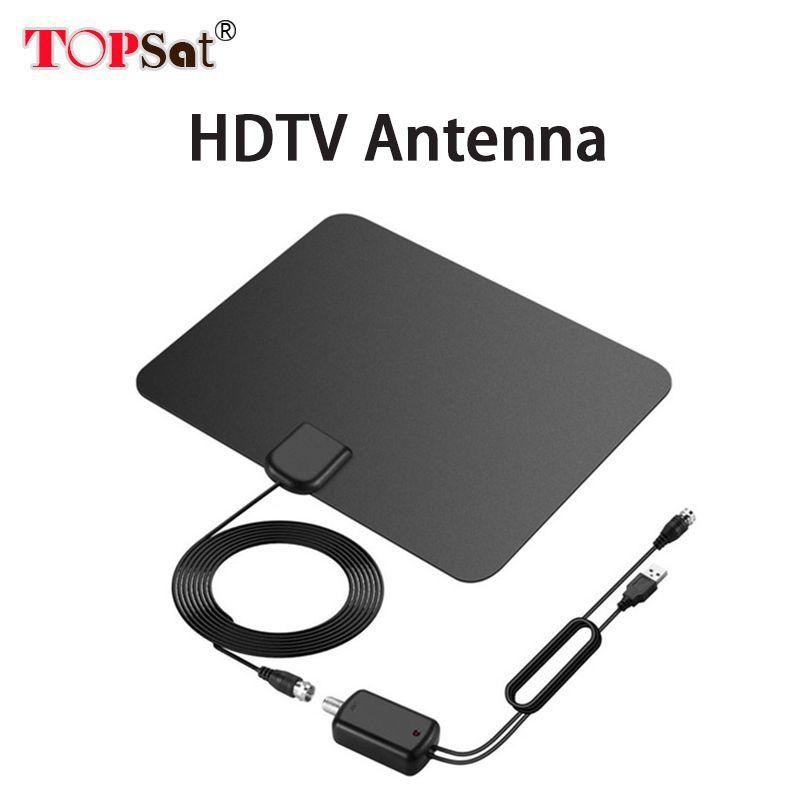 Испания Лидер продаж Крытый hd цифровой Усилители домашние Телевизионные антенны 50 км Диапазон dvb-t/T2 ТВ indoor Телевизионные антенны DVB-T2 для сп...