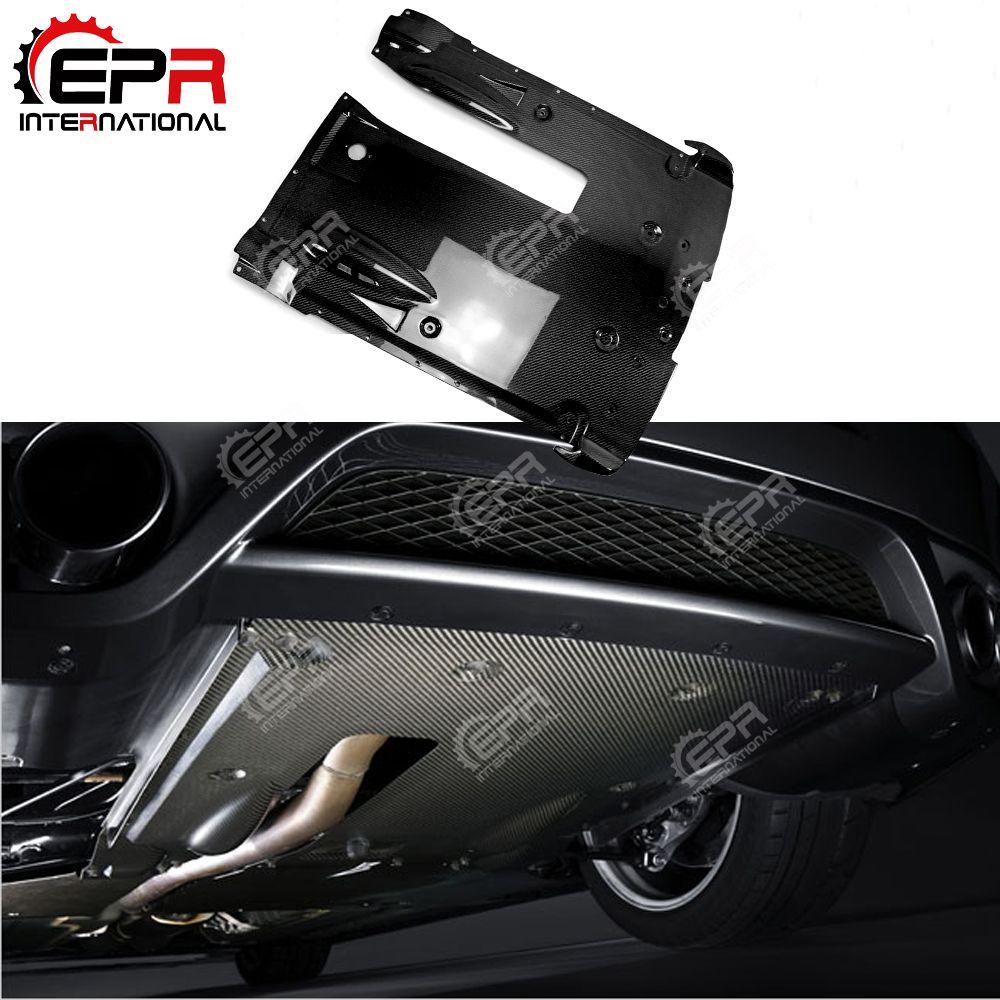 For Nissan R35 GTR Carbon Fiber Rear Under Bottom Diffuser Car Styling Body Kit For GTR R35 2012 on OEM Style Tuning