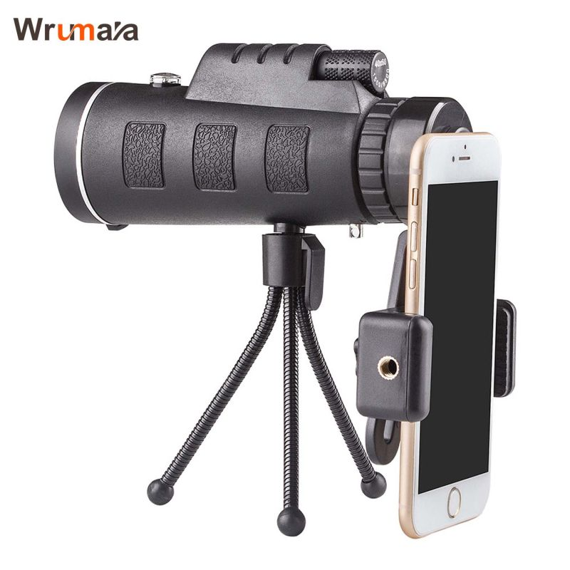 40x60 HD Zoom Optique Haute Puissance Grossissement Monoculaire Portée Télescope Avec Support de Téléphone et Trépied Pour Tous Les Téléphones