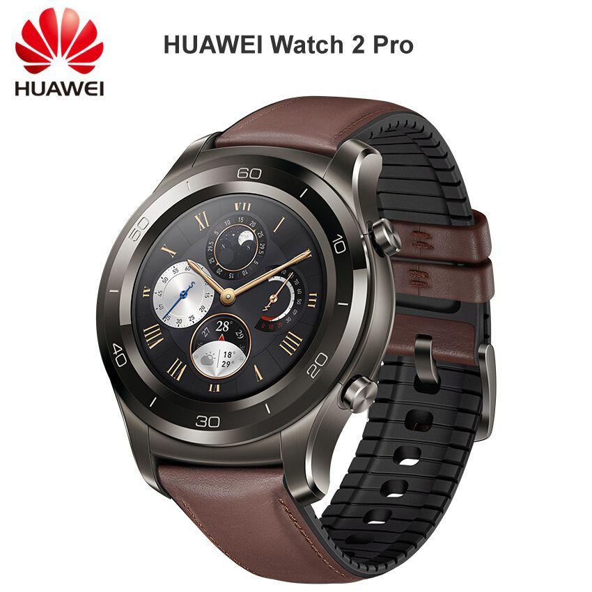 HUAWEI Uhr 2 Pro Smart Uhr Unterstützung LTE 4G Anruf Herz Rate Schlaf Tracker eSIM Für Android iOS IP68 Wasserdicht NFC GPS