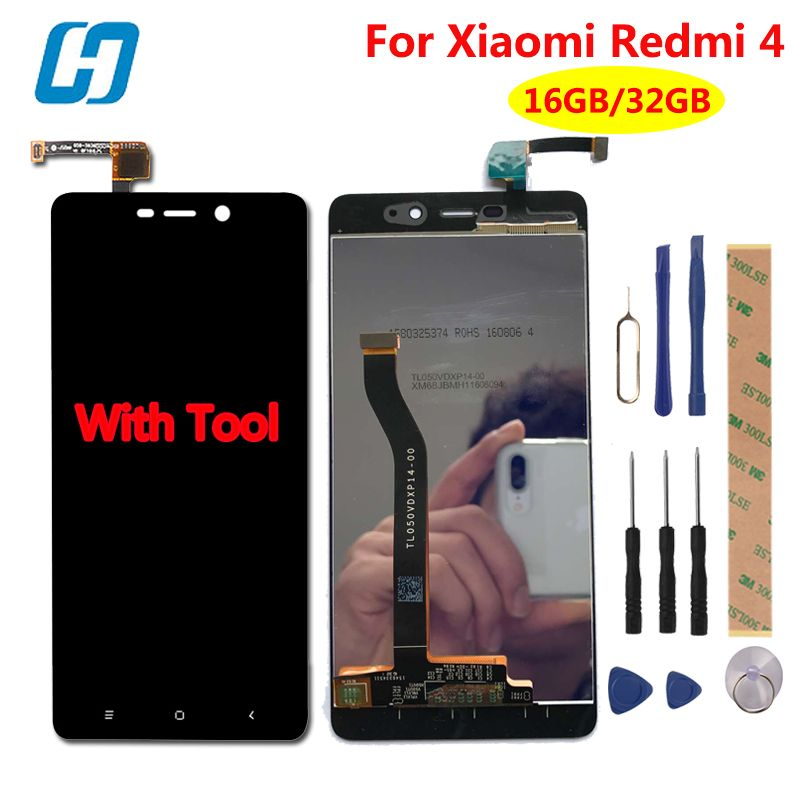 Xiaomi Redmi 4 Pro LCD Display+Touch Screen Test Well New Digitizer Screen Glass Panel For Xiaomi Redmi 4 Pro Prime Redmi 4
