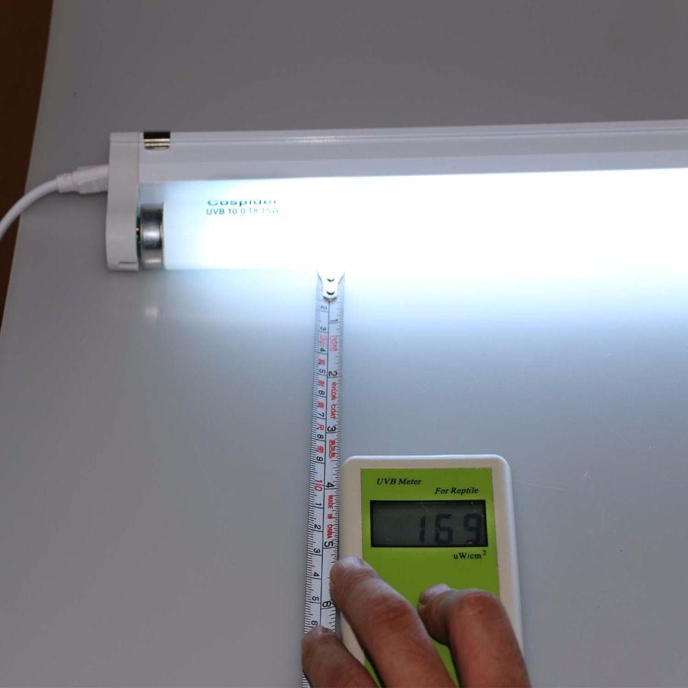 UVB 5.0 10.0 Reptile CFL Fluorescent Linéaire Lumière Lampe Kit 18