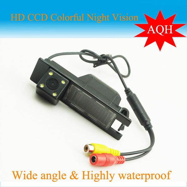 Car Rear view REVERSE Camera For OPEL Astra Vectra Zafira 09 REGAL 170 degree CCD night vision waterproof Reversing backup Cam