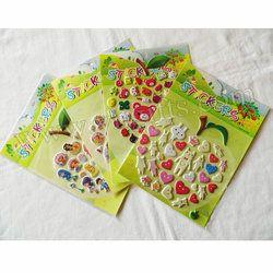 3 Lembar (100 PCS stiker)/LOT. Mixed desain stiker, Anak-anak mainan. Scrapbooking kit. awal pendidikan DIY. Murah. tk kerajinan
