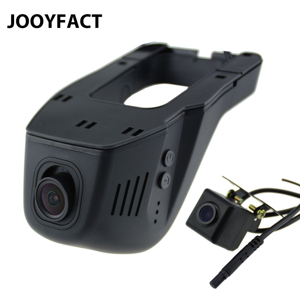 JOOYFACT A5 Car DVR DVRs Registrator Dash Cam Camera Digital Video Recorder Dual Lens Night Vision Camcorder 96658 IMX 323 WiFi