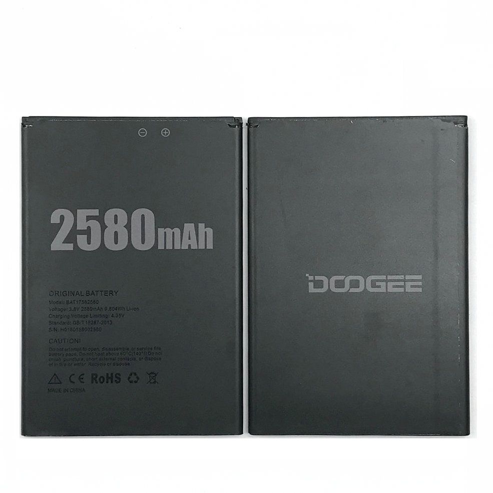 100% New DOOGEE X20 Battery 2580mAh New Replacement BAT17582580 battery For DOOGEE X20 Phone + Track Code