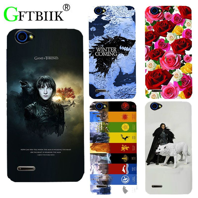 For Game Of Thrones 7 Case For ZTE Blade L4 T610 A460 Cover UV Printing Soft Silicone Printed Phone Back Shell Football Cases