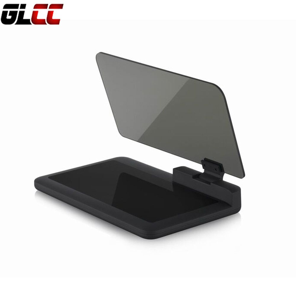 Universal H6 Smartphone Hud Head Up Display Holder Projector Car GPS Navigator Car Mount Stand Phone Holder Black Non-slip Mat