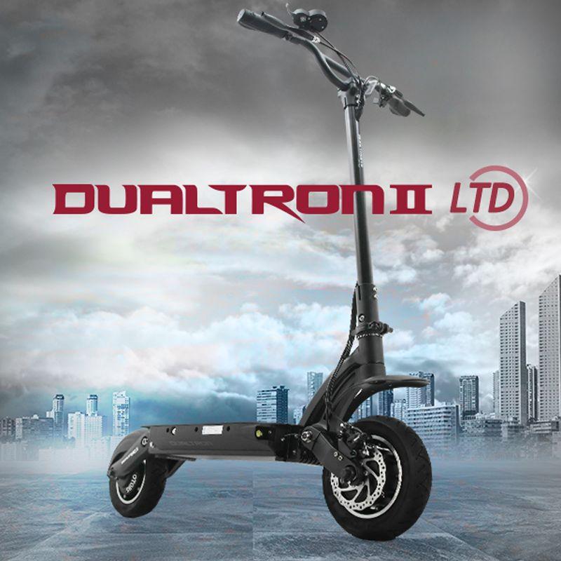 2017 Корея Дизайн самый мощный dualtron II электрический самокат 60 В 1600 Вт