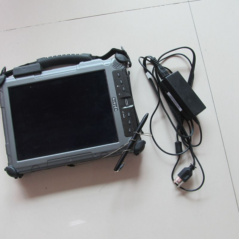 2017 Hot sale Dianostic computer for Xplore iX104 c5 i7,4g Industrial Rugged Tablet PC work for sd c4 sd c5 Icom a2 icom next