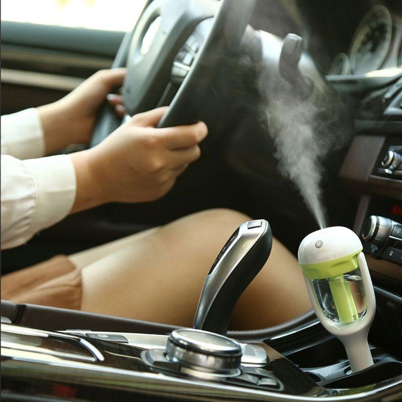 Voiture Air Frais Humidificateur Diffuseur Huile Essentielle Ultrasons Aroma Mist Purificateur # Y05 # # C05 #