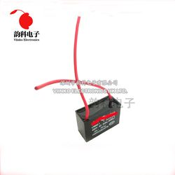 2 pcs/lot CBB61 condensateur de démarrage 1 uf 1.2 uf 1.5 uf 2 uf 2.5 uf 3 uf 3.5 uf 4 uf 5 uf 6 uf AC Condensateur Du Ventilateur 450 v CBB