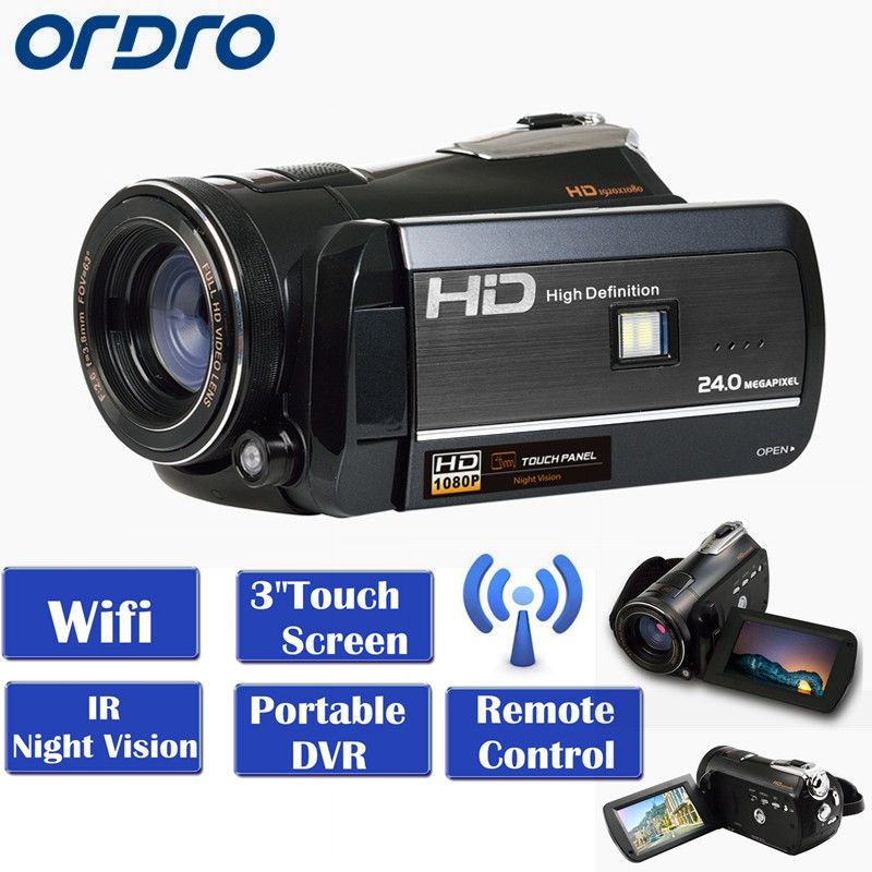 ORDRO HDV-D395 WIFI Full HD 1080 P 18X3.0