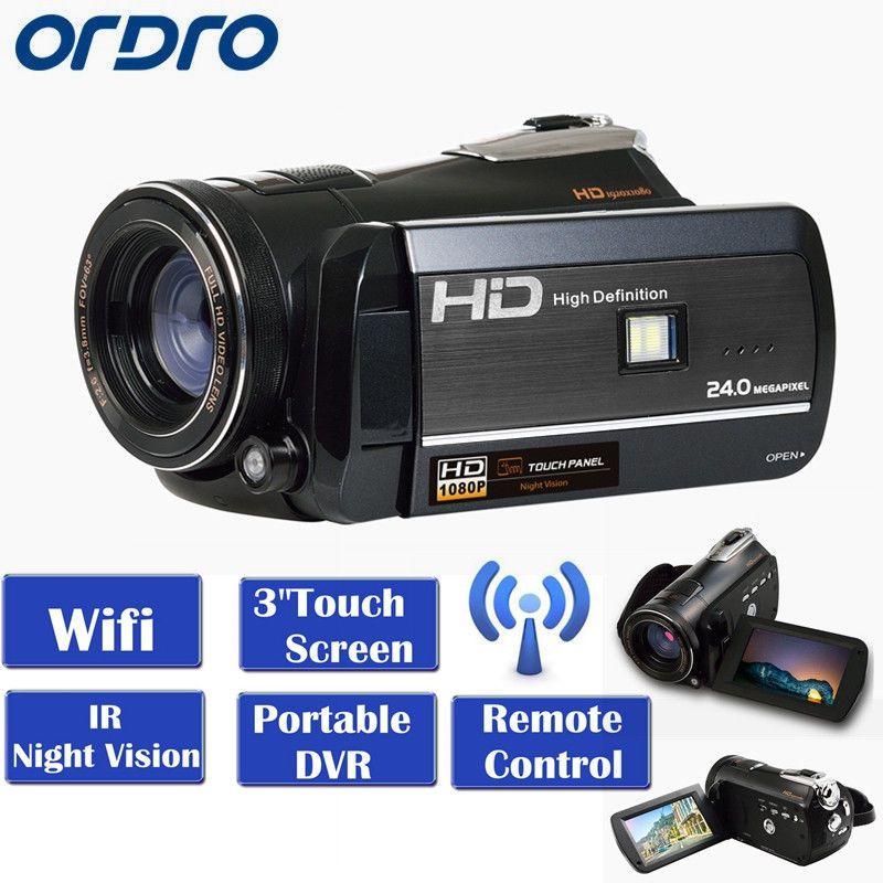 ORDRO HDV-D395 WIFI Full HD 1080 p 18X3.0
