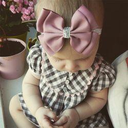 22 couleur nouveau Bébé cheveux arc Bandeau de fleur Argent ruban Bande De Cheveux À La Main BRICOLAGE cheveux accessoires pour enfants nouveau-né en bas âge