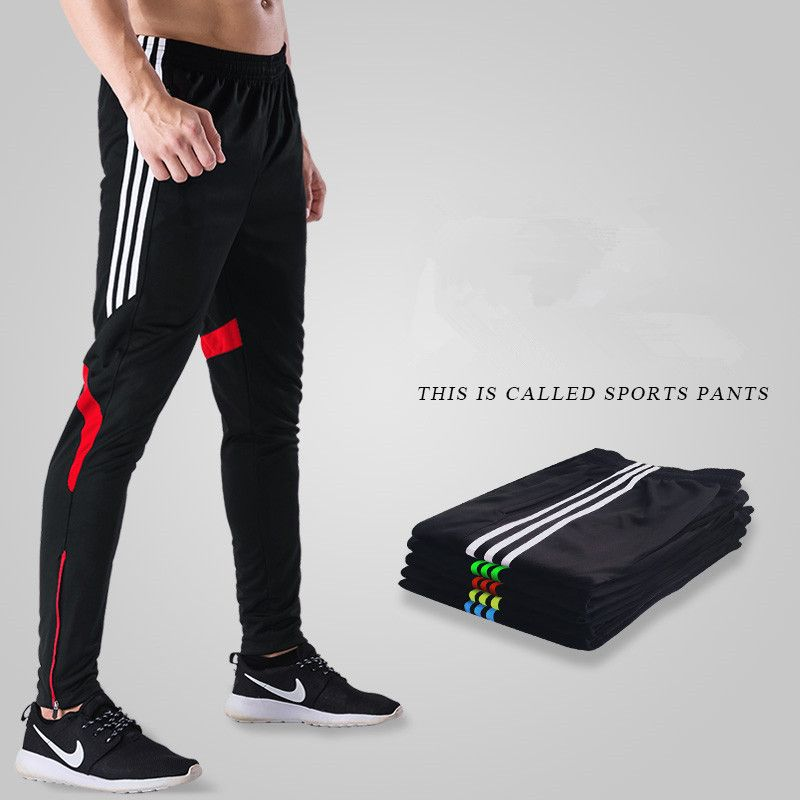 Men Running Gym Sport Fitness Workout Leggings Masculina Football Jogging Homme Run Training Trousers Black Pants 4xl Plus Size